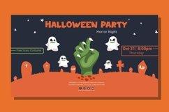Web Font Zombie Nightmare - Halloween Display Font Product Image 2