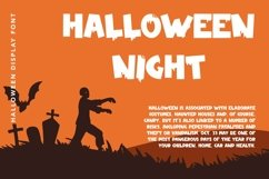 Web Font Zombie Nightmare - Halloween Display Font Product Image 3