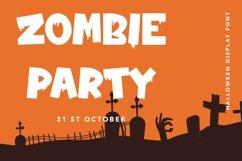 Web Font Zombie Nightmare - Halloween Display Font Product Image 4