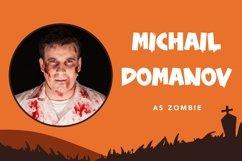 Web Font Zombie Nightmare - Halloween Display Font Product Image 6