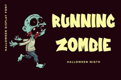 Zombie Zone -Halloween Display Font Product Image 3