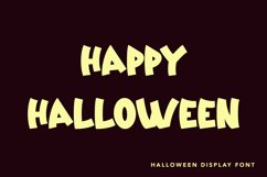 Zombie Zone -Halloween Display Font Product Image 2