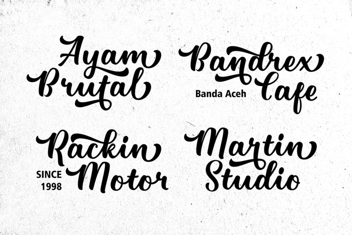 Pathout Script - Free Font of The Week Design4