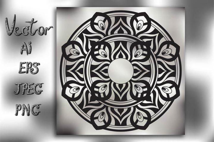 Mandala. Vintage decorative element