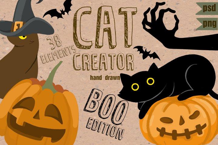 Cat Creator Halloween collection
