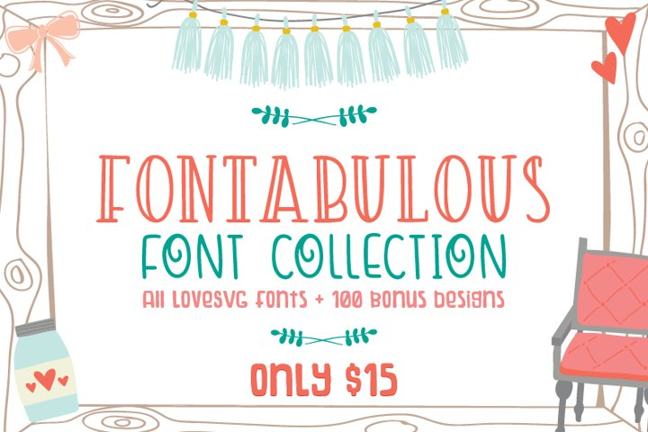 Fontabulous Font Collection