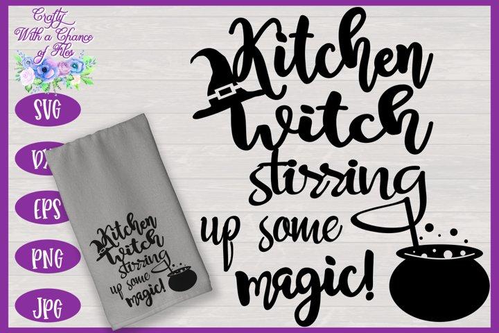 Kitchen Witch SVG | Halloween SVG | Witch SVG | Kitchen SVG