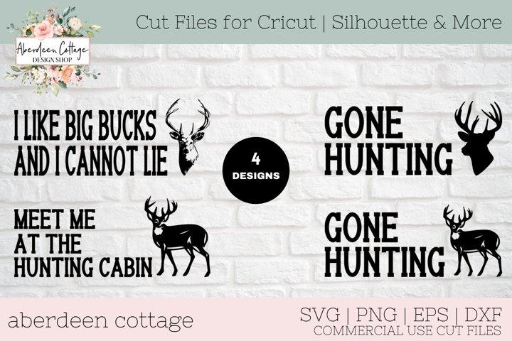Deer Hunters Mini Sign Bundle - Deer Hunting T-Shirt & Sign