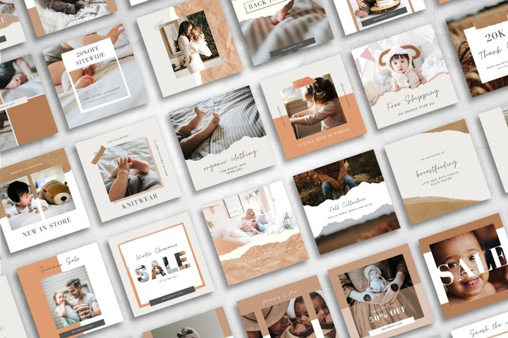 25 Instagram Templates made in Canva   Small Shop Owner