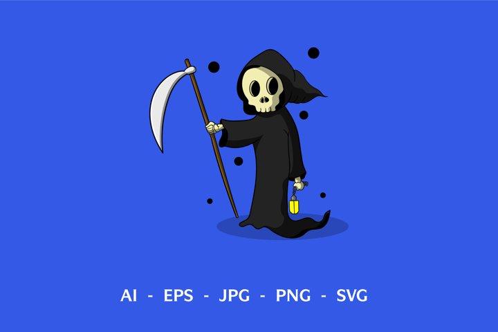 Grim Reaper Vector Design