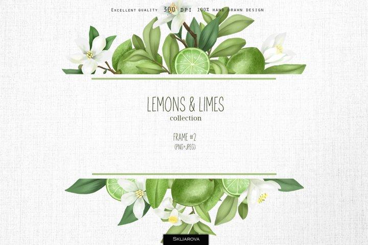Lemons & limes. Frame #2.