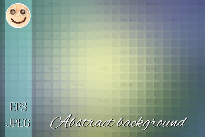 Yellow purple grey abstract rounded mosaic background