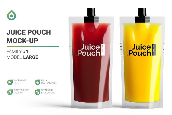 Juice Doypack LG Mock-Up #1 V2.0