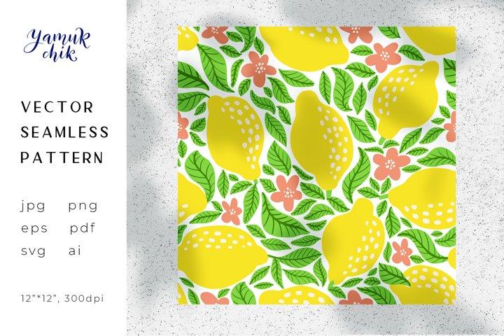 Lemon Digital Paper png, lemon seamless pattern,citrus paper