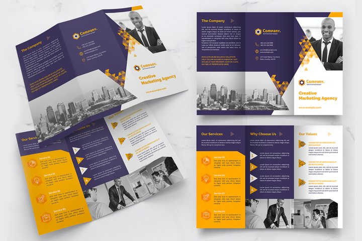Trifold Brochure Creative Template