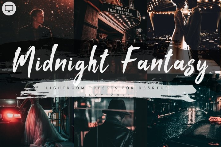 7 Midnight Fantasy Lightroom Presets