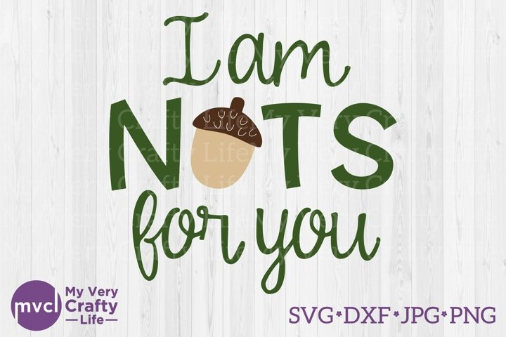I am NUTS for you SVG file