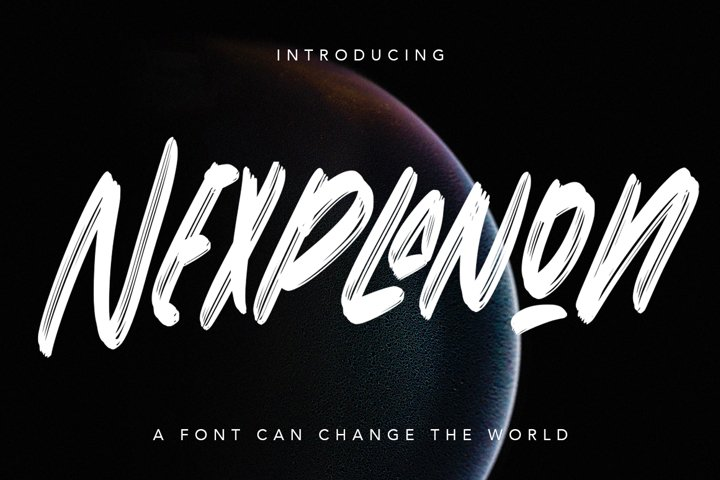 Nexplanon - Regular Display Font
