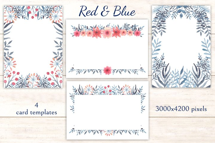Red & Blue example 5