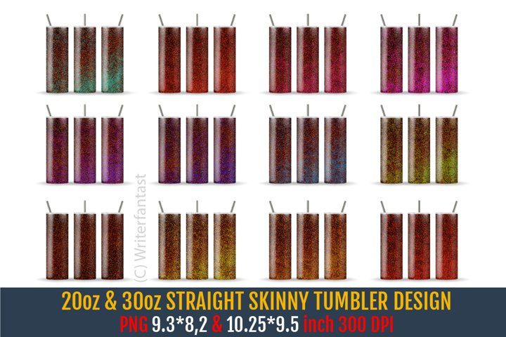 20oz &30oz STRAIGHT Skinny Tumbler Sublimation