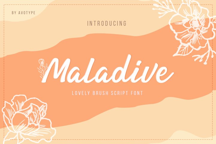 Maladive | Lovely Script Font