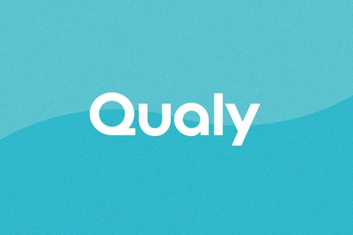 Qualy - Logo Font / Logo Use Only