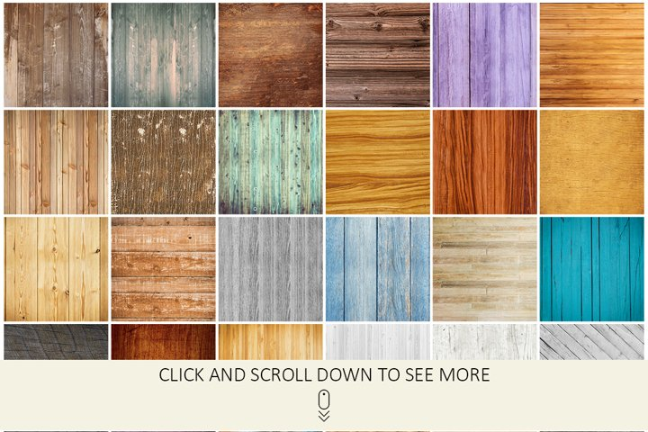 100 Real Wood Textures example 3