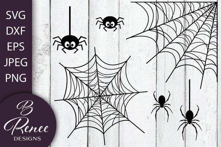 Spiders & Webs SVG