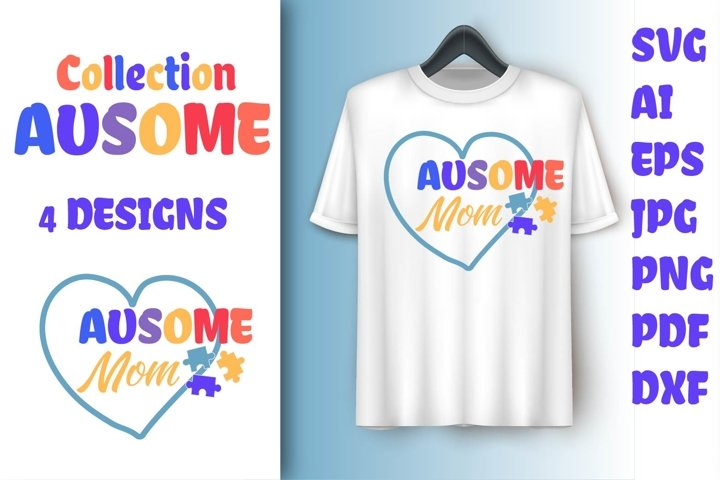 Collection AUSOME family kit