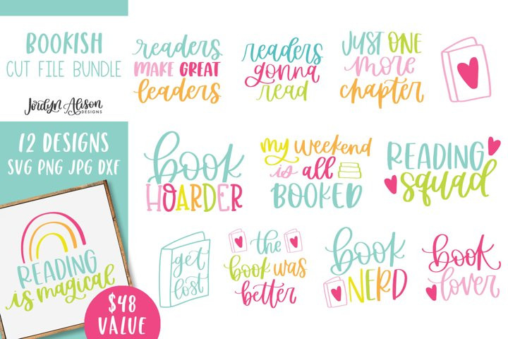 Bookish SVG Bundle, Inspirational Quotes Volume Two