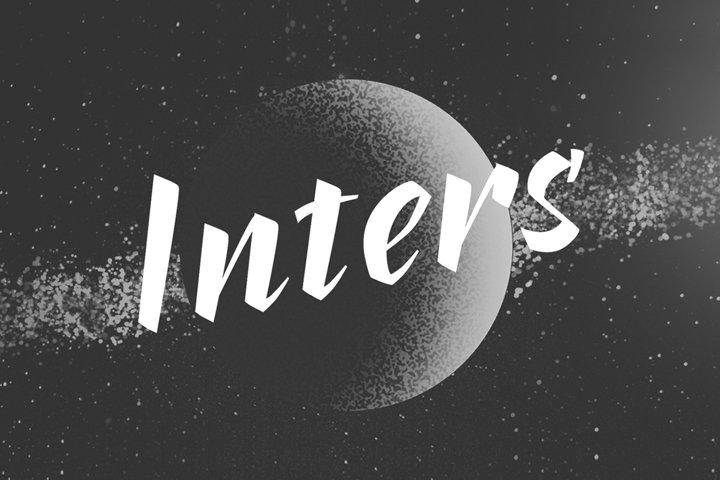 Inters—handwritten font