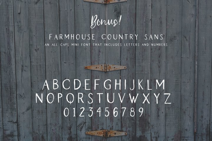 Farmhouse Country Rustic Cursive Font - Free Font of The Week Design9