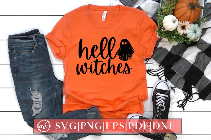 Hello Witches SVG Halloween Design