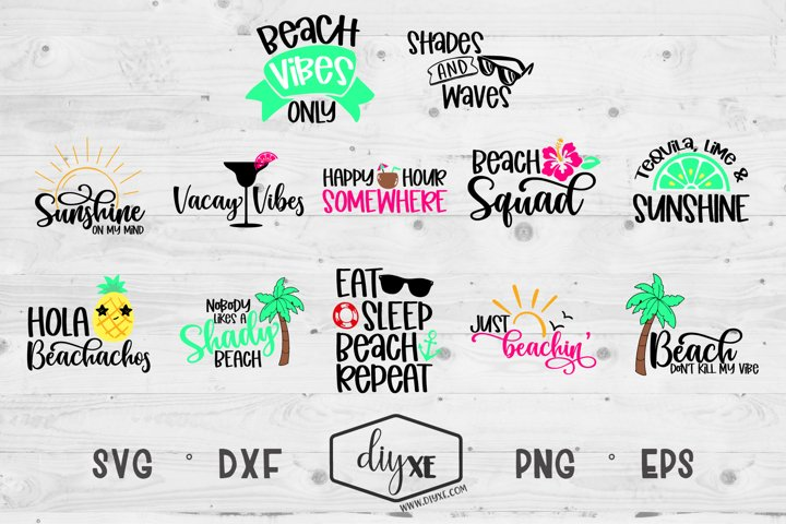 Huge Vacay Bundle - A Collection Of Beach SVGs