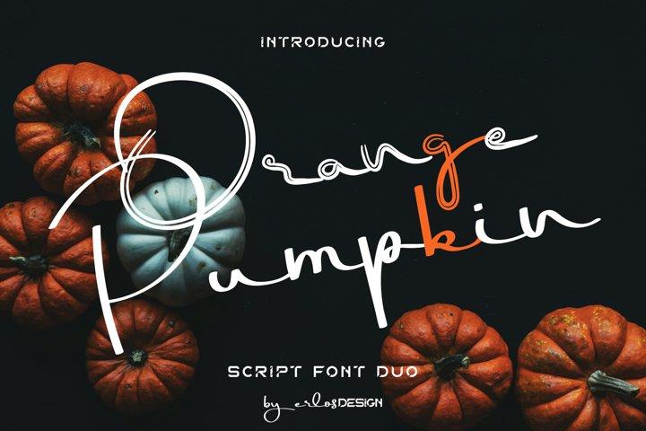 OrangePumpkin Font