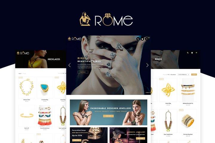 Rome Shopify Theme