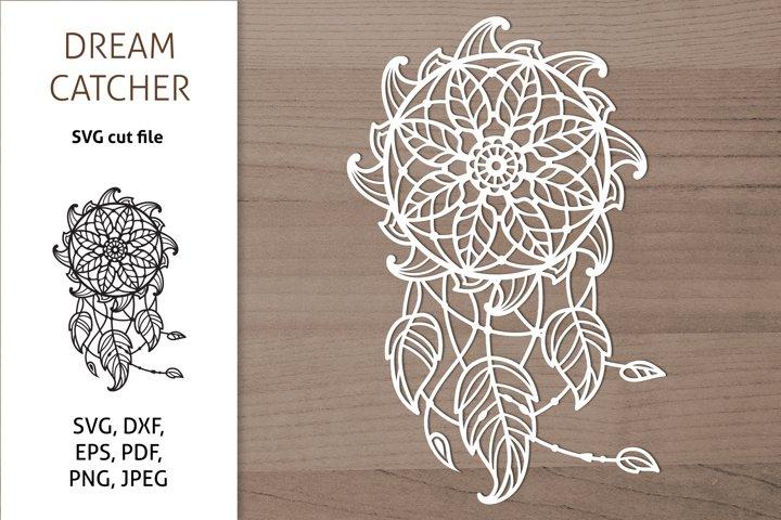 Dreamcatcher SVG, Dream Catcher Cut Files, Boho Design