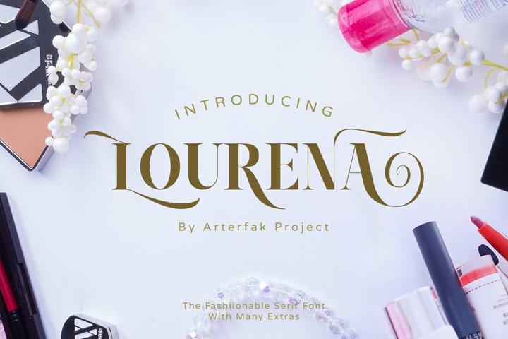 Lourena Typeface