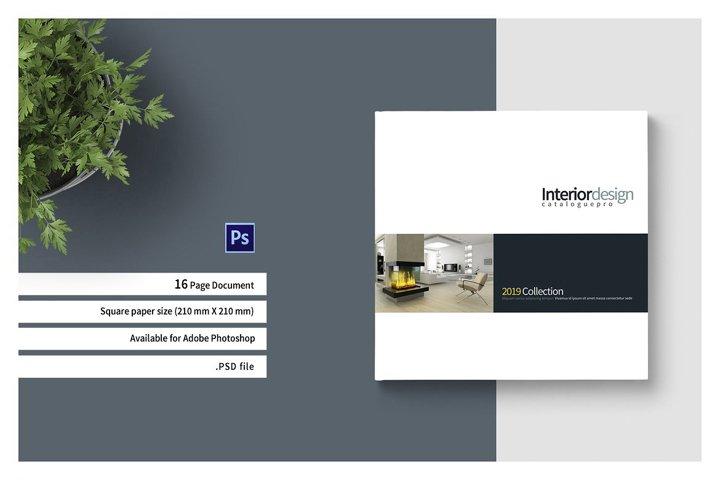 PSD - Square Interior Brochure