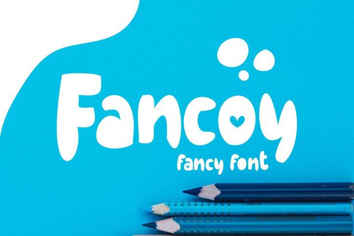 Fancoy | Fancy Font