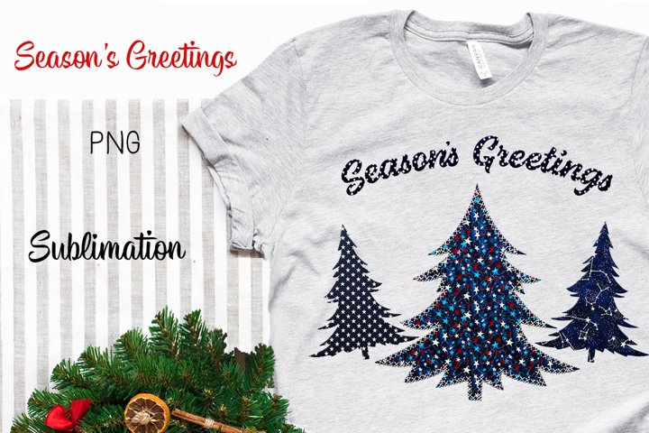Sublimation Christmas Design|Trees