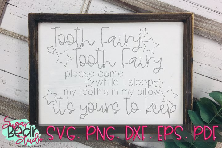 Foil Quill - Tooth Fairy Tooth Fairy SVG example