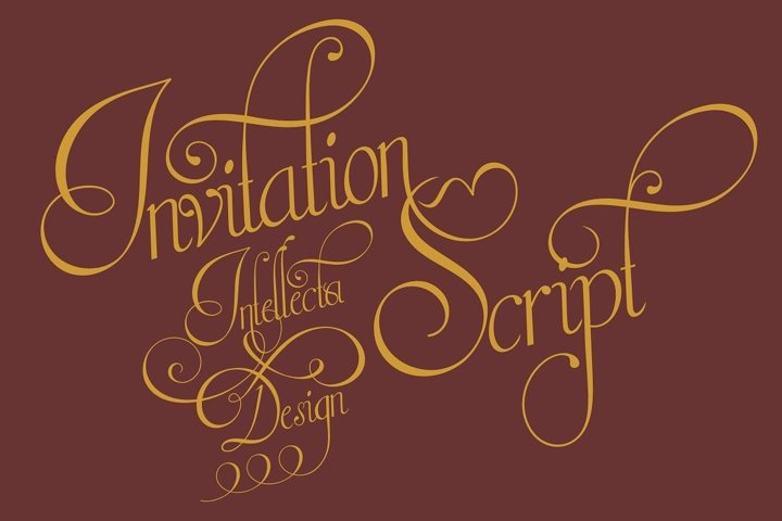 Invitation Script - Free Font of The Week Font