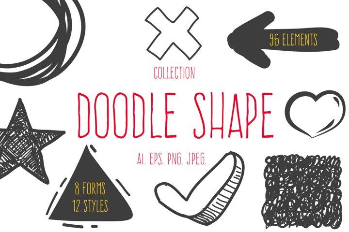 Doodle shapes