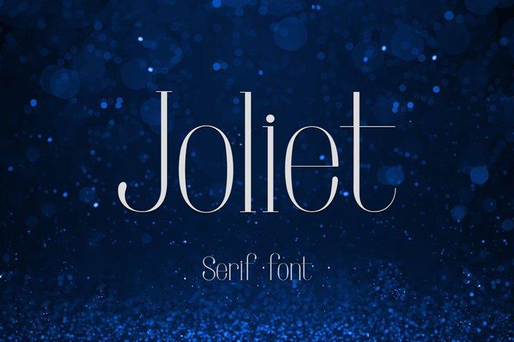 Joliet - Font