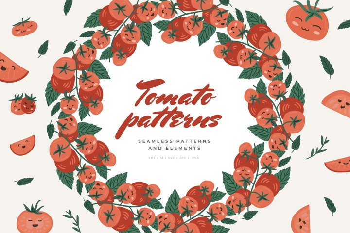 Tomato Patterns and elements