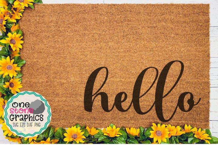 Hello doormat svg,hello svg,hello cut file