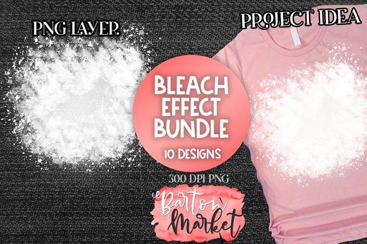 Bleach Effect Bundle 10 Designs for Sublimation Mockups
