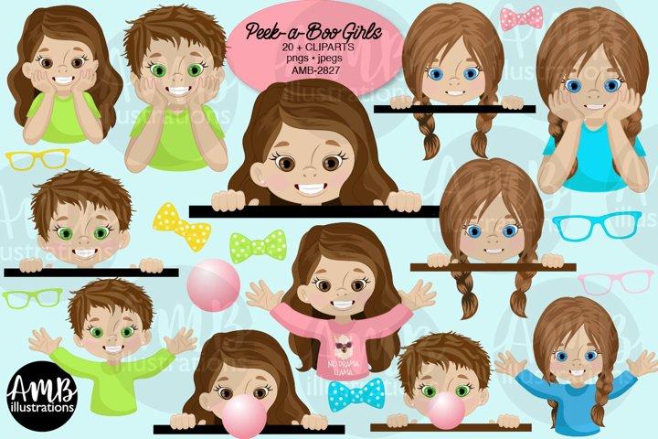 Peek-a-boo girls, AMB-2827