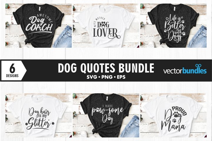Dog quotes svg. Cut files for crafters